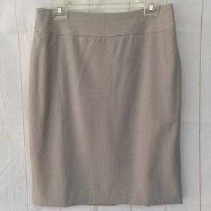 Banana Republic Classic Wool Stretch Pencil Skirt
